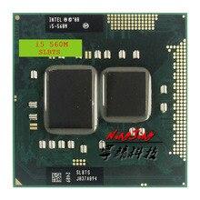 Intel Core i5 560M i5 560M SLBTS 2.6 GHz Dual Core Quad Thread CPU Processor 3W 35W Socket G1 / rPGA988A