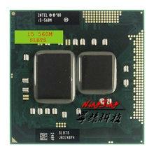 Processeur Intel Core i5-560M i5 560M SLBTS 2.6 GHz, Dual-Core Quad-Thread, 3W 35W, Socket G1 / rPGA988A