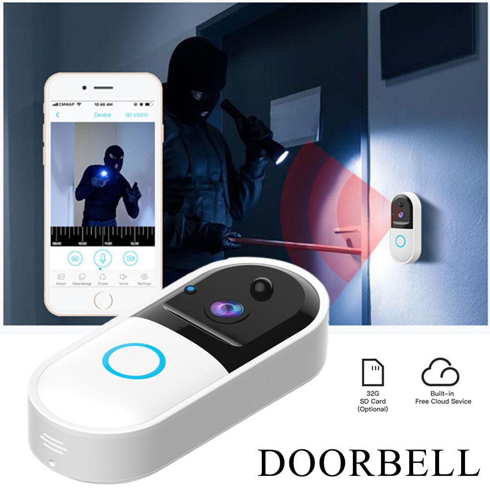 B50 Wireless WiFi Intercom Video Doorbell Camera Set Smart APP Control Door Bell Camera with Video Night VisionB50 Wireless WiFi Intercom Video Doorbell Camera Set Smart APP Control Door Bell Camera with Video Night Vision