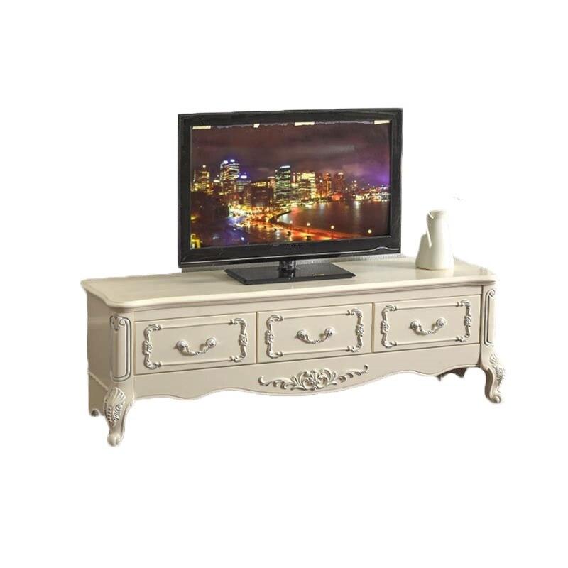 Meubles Lemari Led bois De Sehpasi peinture madère Para Soporte européen en bois moniteur Stand Mueble Table Meuble Meuble Tv