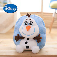 dda3e09554f Disney Kids Rugzak Bevroren Olaf Cartoon schooltas Zacht Pluche Hoge  Kwaliteit PP Katoen Gevuld Fluffy Kinderen Poppen