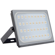 5PCS IP65 Waterproof LED Spotlights 200W 220V 110V Ultra thin LED Flood Light Outdoor Garden Street Light Floodlight Led(China)