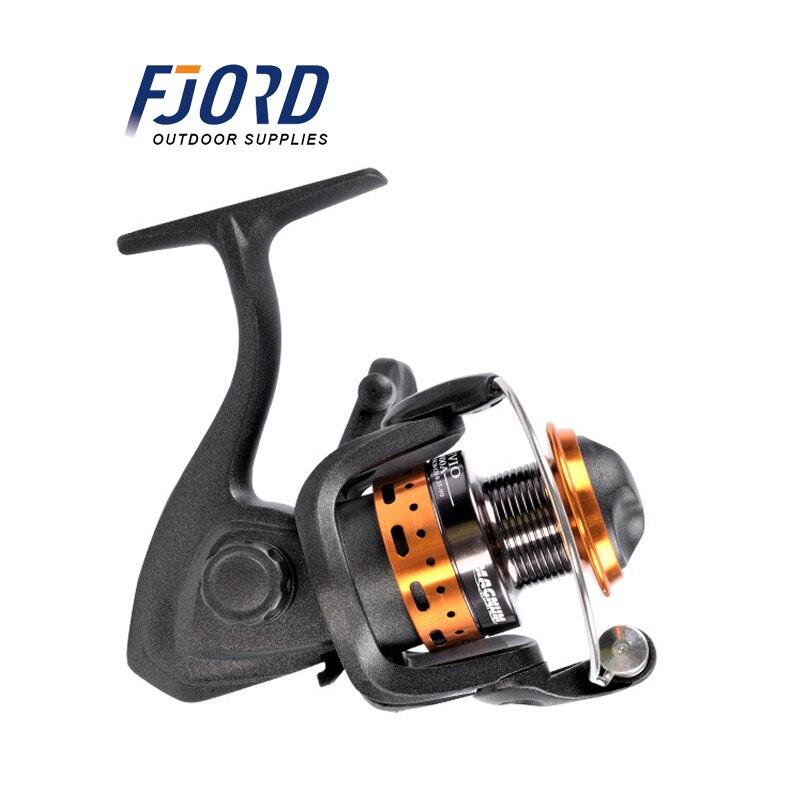 FJORD 5 подшипников мяч 5*1 колесо ЧПУ Ручка 5,0: 1 спиннинговая Рыболовная катушка полная металлическая головка спиннинговая Рыболовная катушка