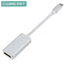 Type C Adapter USB C 3.1 to DP Female Displayport Converter Extra Adapters for DP Port to DVI HDMI VGA for MacBook Laptop Tablet