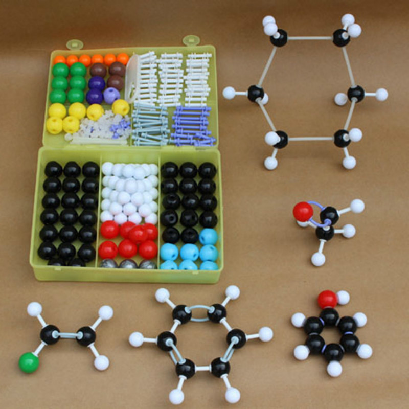 267Pcs High Quality Organic Molecular Structure Model Set Kit-General Chemistry School Lab Teaching Research Tools With Box 6202267Pcs High Quality Organic Molecular Structure Model Set Kit-General Chemistry School Lab Teaching Research Tools With Box 6202