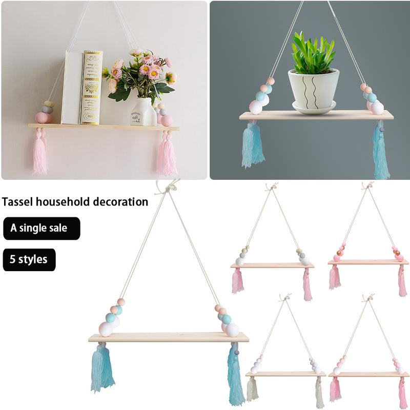 Ins Led Light String Concise Hemp Rope Wall Shelf Photo Clip Led Decorative Lights For Home Garden Party Wooden Night Light Gift Novelty Lighting