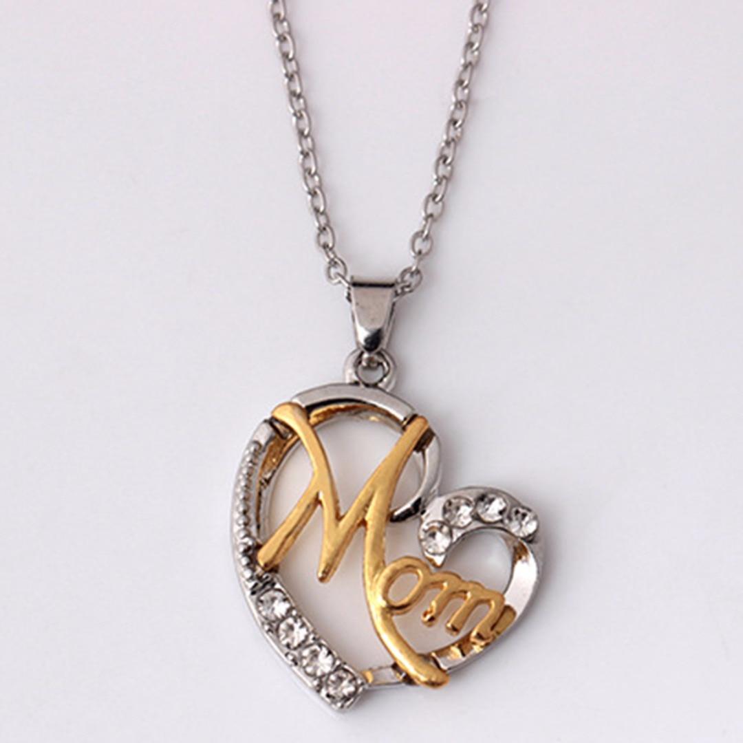 Sainio Lover Heart Pendant Necklace Letter