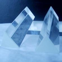 Обучение физике прецизионной оптической стеклянной призмы
