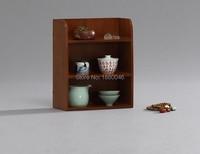 Samll szie Teaware Jogo de Chá De Bambu Cremalheira prateleira prateleira bule Bandejas de Chá Pires de Chá xícara de chá Chinês coleção Artesanato bandeja de exibição