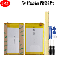 JRZ Backup Battery For Blackview P10000 Pro 11000mAh Hight Capacity Top Quality Replacement Batteries +Tools