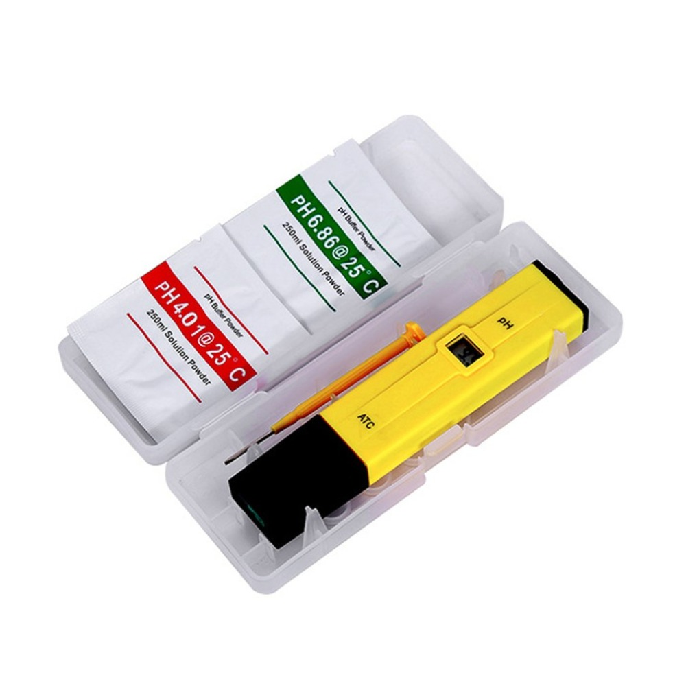 Portable Digital PH Meter Tester with TDS Meter Pen PH 0.0-14.0 PH High Accuracy for Drink Water Food Lab PH Monitor