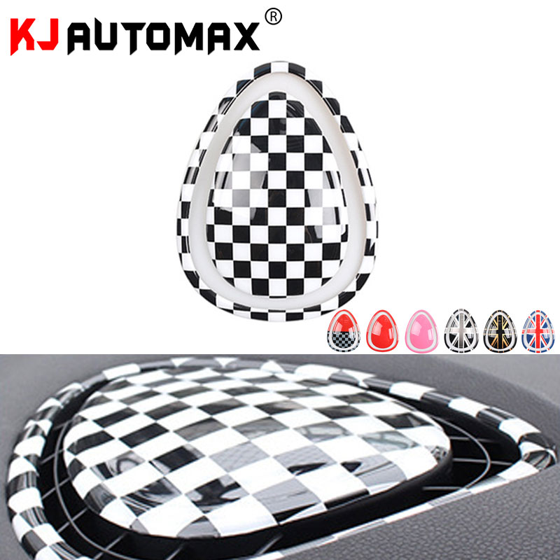 KJAUTOMAX Air Outlet Decoration Cover For Mini Cooper F54 F55 F56 Car Styling ABS Accessories