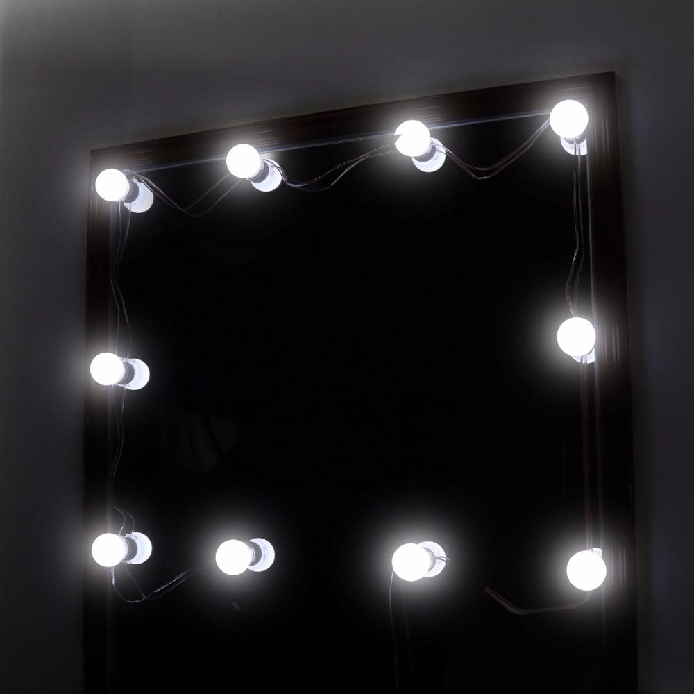 10 Led Bulb Vanity Makeup Mirror Cold Light Led Vanity