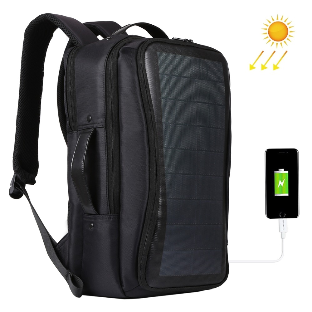 Flexible Solar Panel Backpacks Convenience Charging Laptop Bags For Travel 14W Solar Charger Daypacks Handle USB PortFlexible Solar Panel Backpacks Convenience Charging Laptop Bags For Travel 14W Solar Charger Daypacks Handle USB Port