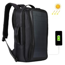 Flexible Solar Panel Backpacks Convenience Charging Laptop Bags For Travel 14W Solar Charger Daypacks Handle USB Port
