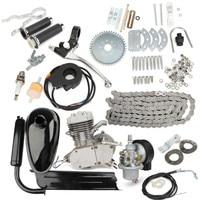 Brand New 80cc 2 Stroke Motor Engine Kit for DIY Motorized Bicycle Push Bike Complete Petrol Cycle Motor Set High Quality Set