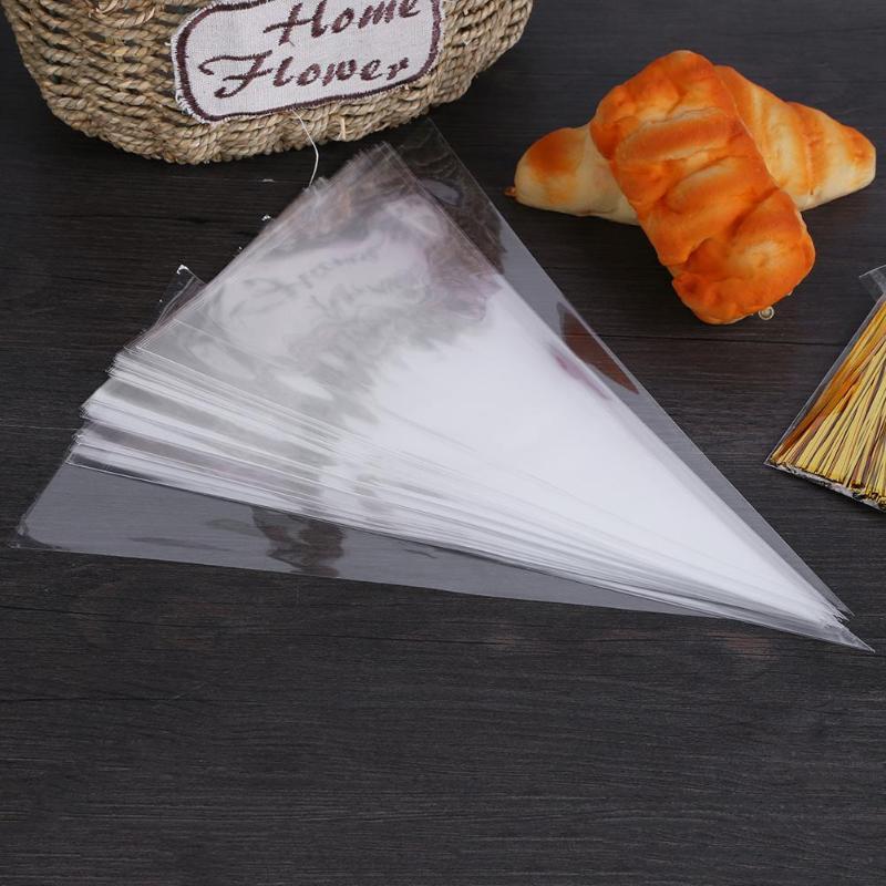 50pcs Disposable Piping Bag Pastry Bag Lcing Piping Cake Cupcake Decorating Tools/Bags Cake Tools Small/Large Size Dropshipping