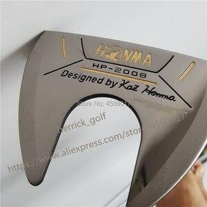 Image 2 - Honma hp 2008 골프 퍼터 클럽 골프 클럽 고품질 무료 헤드 커버 및 배송