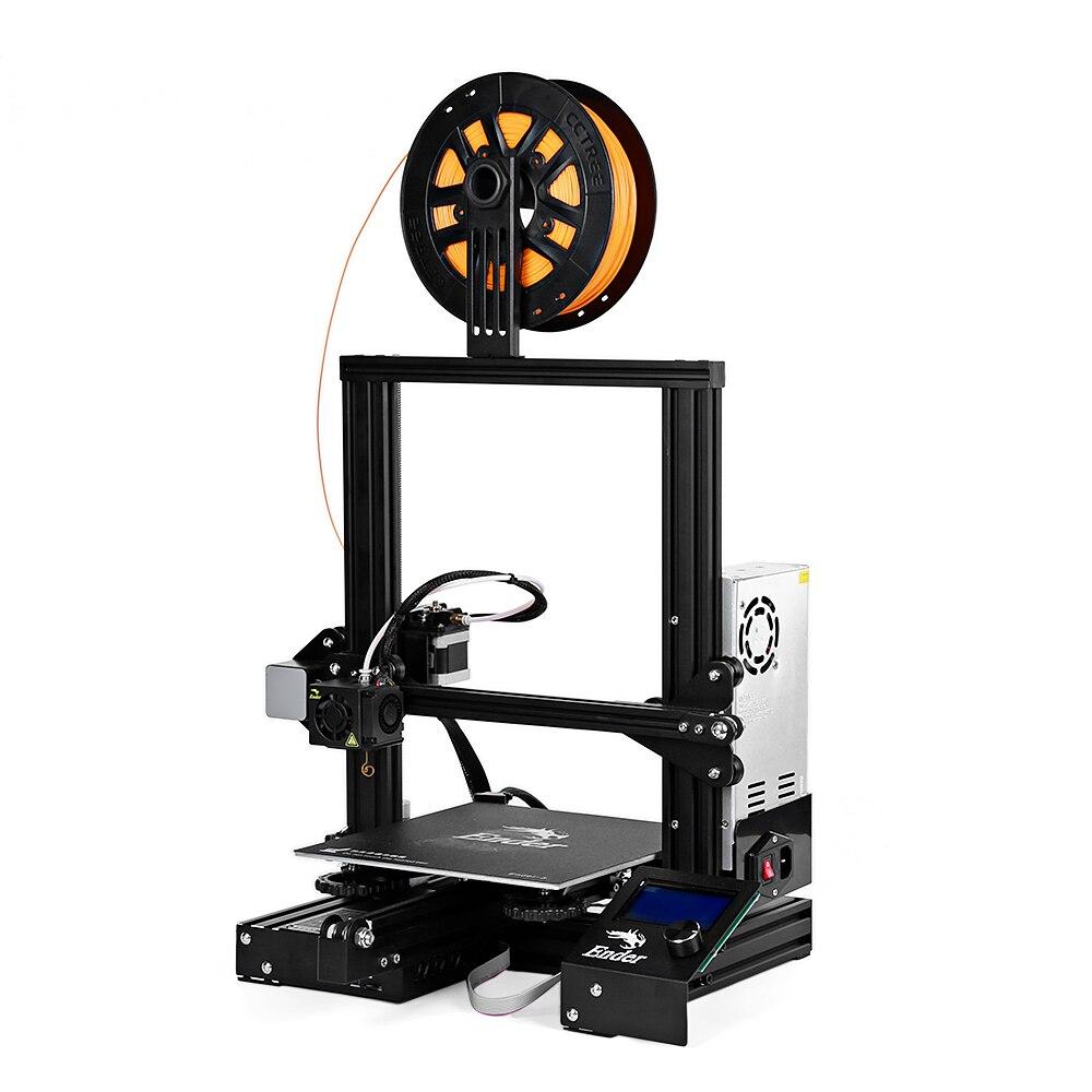 Nouveau Creality 3D Ender-3 Haute Précision 3D Imprimante DIY Kit Acier Cadre LCD Affichage 220x220x250mm grande Zone D'impression