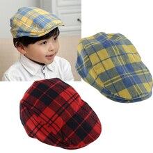 1eeeb305 Baby Boys Kids children Infant Cotton Beret Golf Baseball Beanie Sun hat Cap (China)