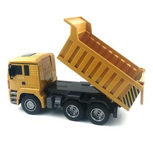 Image 5 - HUINA 332 1:16 Four Wheel Drive RC Dump Truck  Load 1kg children rc  Plastic Truck car toy