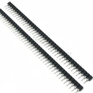 Free shipping 10pcs 1X40PIN 2.54MM 1x40 Pin 2.54 Round Female Pin Header connector