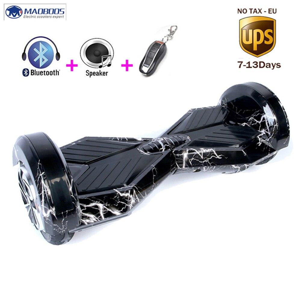 Hoverboard électrique 8 Pouces Auto Balance batterie de scooter Gyroscooter Avec enceinte led Bluetooth Patinete Electrico Planche À Roulettes