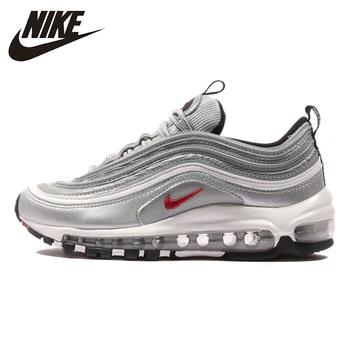new style abc15 fd819 Nike Air Max 97 OG nueva llegada Original hombre cojín zapatillas deportivas  al aire libre zapatillas para hombres zapatos #918890 /885691/884421