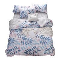 Luxury Nordico Kids Jogo Lencoes Sabanas Individual Colcha Y Conjuntos Cotton Linen Bed Ropa De Cama Sheet And Quilt Bedding Set