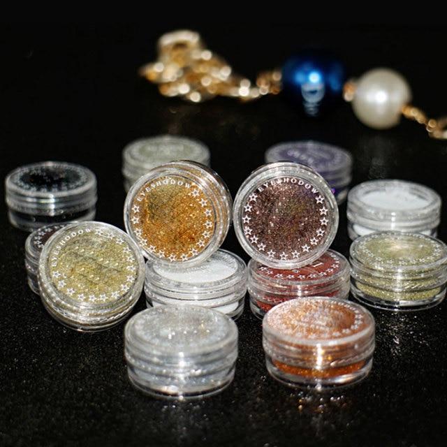 1 Bottles Of Eye Shadow Powder Makeup Shiny Loose Glitter Powder Eyeshadow Cosmetic Make Up Powder 4