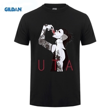 GILDAN Japan Tokyo Ghoul printed hot anime t shirt clothes Ken Kaneki short-sleeve T-shirt men tshirt