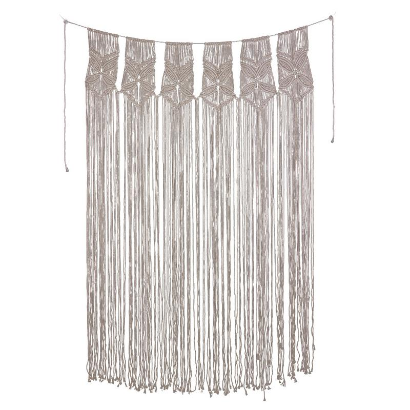 Nordic Home Big Curtain Tapestry Curtains Partition Curtains Decorative Bohemian Style Home Wedding Party Backdrop