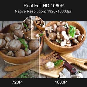 Image 2 - TouYinger M18 العارض كامل HD ، الأصلي 1080p 5500 التجويف ، خيار أندرويد ، LED عارض فيديو المسرح المنزلي كامل HD فيلم متعاطي المخدرات