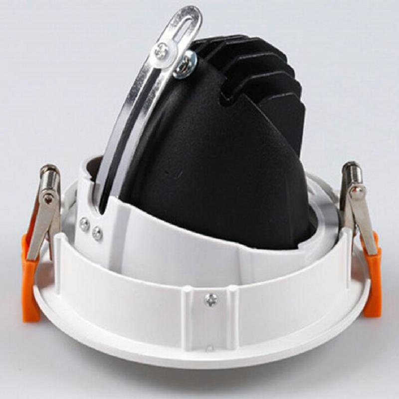 40 w 50 w COB LED Plafond Bas de la Lumière Intérieure Spot Lampe AC85V-265V Blanc Chaud/Froid Blanc Livraison Gratuite