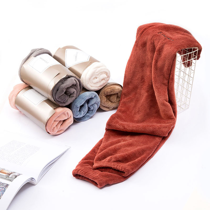 Autumn And Winter Flannel Thick Warm Plus Velvet Fleece Home Trousers