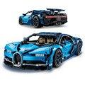 Bugatti Chiron coche de carreras juegos kits 4031 piezas Compatible con bloques de construcción lego Technic Modelo de la serie de ladrillo juguetes para los niños