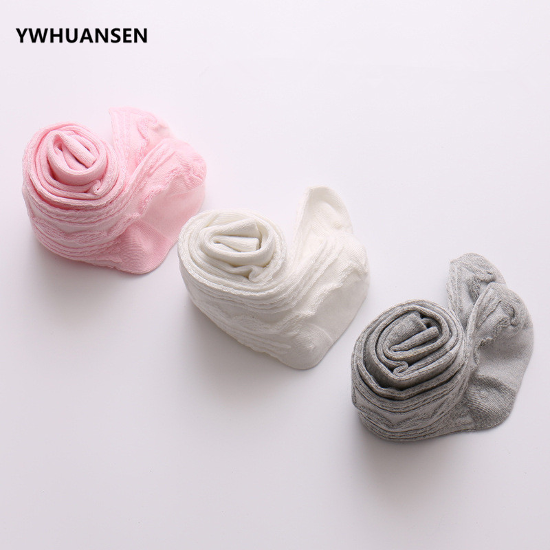 YWHUANSEN 0-6 Yrs Spring Summer Autumn Cute Baby Girls Mesh Cable Knit Tights Cotton Breathable Pantyhose For Toddler Girls Sale 5