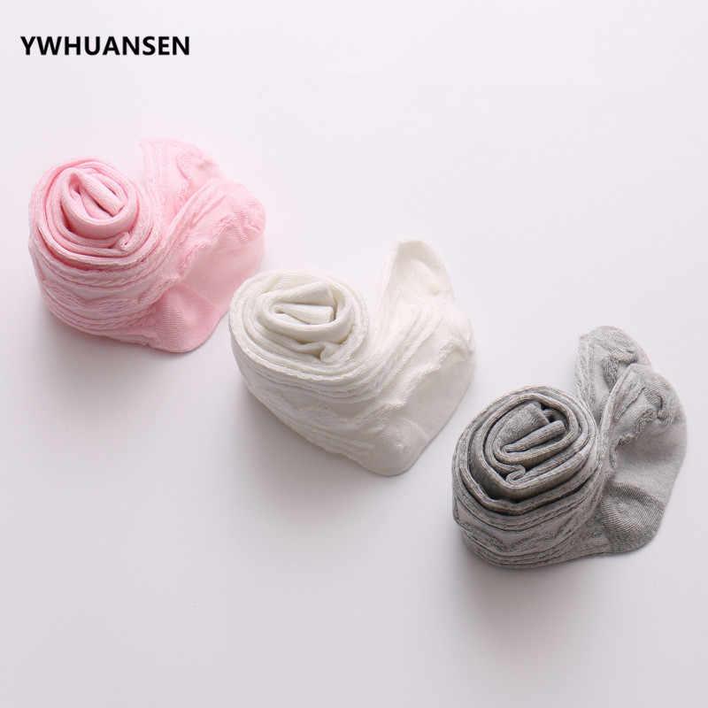 Ywhuansen 0-6 anos primavera verão outono bonito do bebê meninas malha cabo malha collants algodão respirável meia-calça para meninas da criança venda