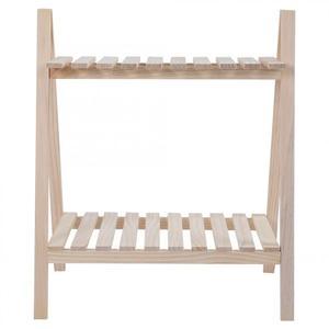 Image 5 - Houten Bloem Stand Massief Hout Woonkamer Bloempot Boek Stand Diaplay Plank Rack Tuin Decoratie nieuwe Jaar