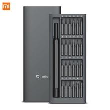 Оригинальный комплект отверток 24 в 1 Xiaomi Mijia Wiha, 60hrc, магнитные биты Xiaomi, домашний набор, ремонтные инструменты Xiomi Mijia
