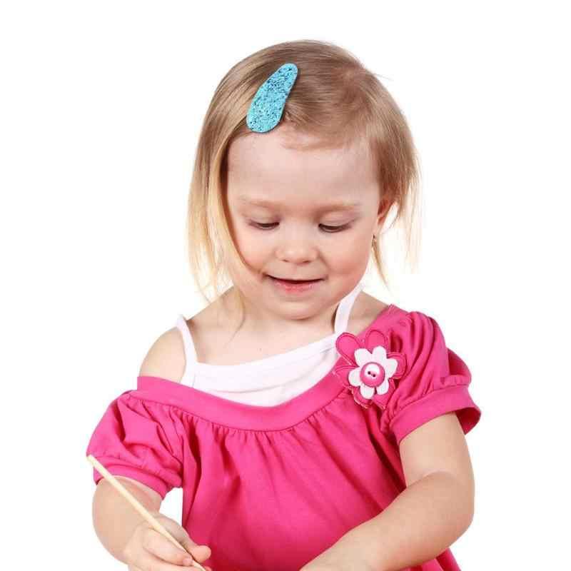 Crianças Meninas Lantejoulas Grampo de Cabelo Duplo Pom Pom Bolas Cauda Ties Ropes Elastic Cabelo Banda Arco Presilhas de Flor Do Partido Da Princesa grampos de cabelo
