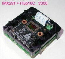 """تحليل ذكي H.265/H.264 IPC 1/2. 8 """"Sony STARVIS IMX291 CMOS الاستشعار + Hi3516C V300 IP CCTV كاميرا وحدة اللوحة PCB"""