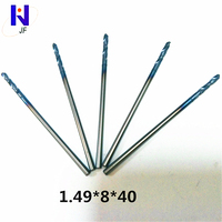 50pcs/Set High Quality Hard Alloy PCB Print Circuit Board Carbide Micro Drill Bits Tool