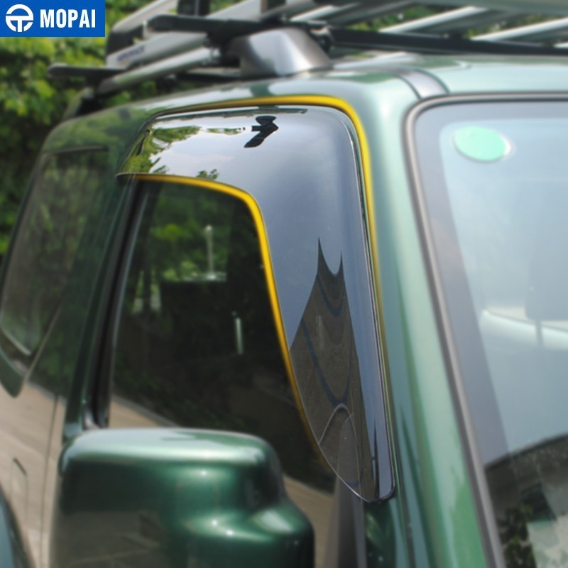 Image 5 - MOPAI Awnings Shelters Cover for Suzuki Jimny 2007 2017 Resin Car Weather Shields Windshield Window Visors Car Accessories-in Awnings & Shelters from Automobiles & Motorcycles