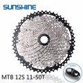Sunshine 11-50t 12 скоростной велосипед свободного хода MTB Велоспорт BMX кассета маховик Аксессуары для велосипеда Совместимость для Shimano X1 Gx