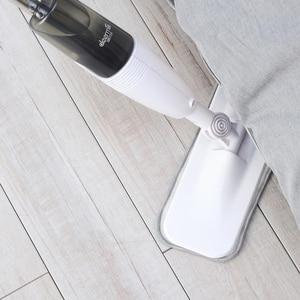 Image 4 - をdeerma噴霧水スイーパーmijia拭くために半分炭素繊維ブラシダスト360回転シャフト350ミリリットルワックスモップタンク
