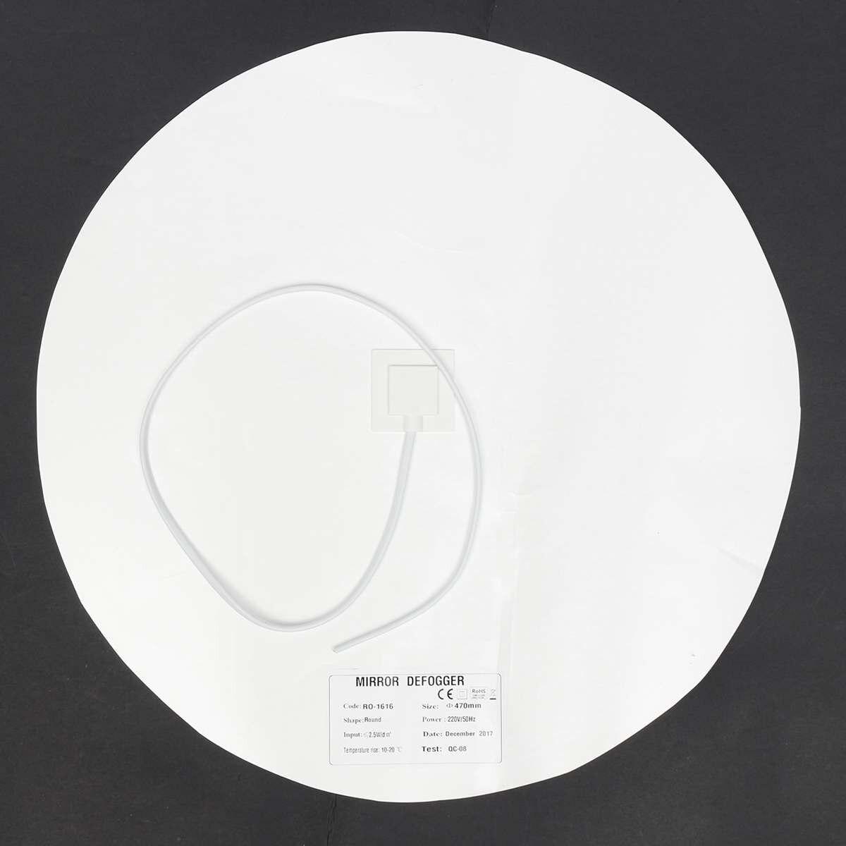 for bathroom Mirror Heated Heating film for Mirrors 220V-240V Anti Fog