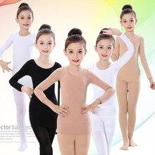 Осенне-зимний комплект термобелья для детей; флисовые плотные теплые подштанники для танцев для девочек; детское нижнее белье; От 2 до 14 лет комплект детской одежды