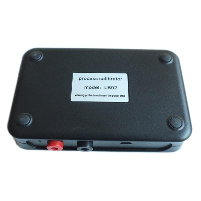 Compteur de tension de résistance USB Lb02 4-20Ma 0-10 V/Mv Source de générateur de Signal Thermocouple Pt100 Test de calibrateur de processus de température - 2