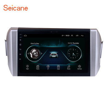 Seicane 9 inch HD Touchscreen Android 10.0 API 29 car Radio for 2015 Toyota INNOVA GPS SWC Bluetooth USB WIFI Rearview Carplay image